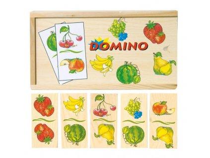 Woody - Domino - ovocie