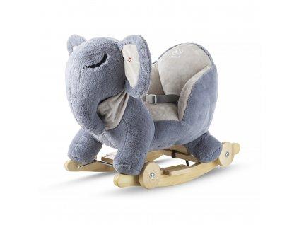 Kinderkraft Hojdačka s melódiou elephant gray Kinderkraft 2020 AGS_KKZSLONGRY0000