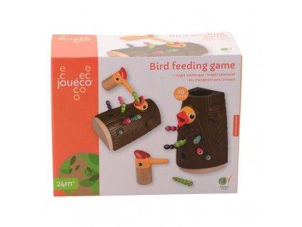 Jouéco Magnetická hra- Kŕmenie vtáčikov 24m+
