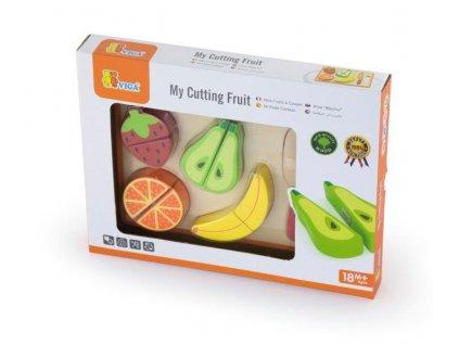 Viga Drevené ovocie na krájanie