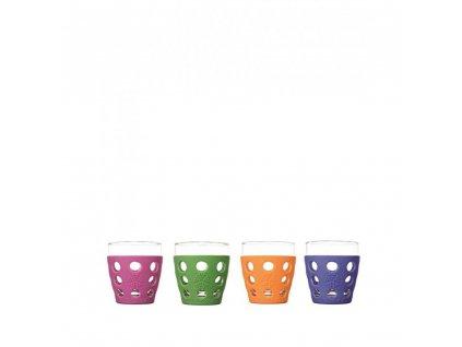 Lifefactory poháre 300ml 4ks mix farieb