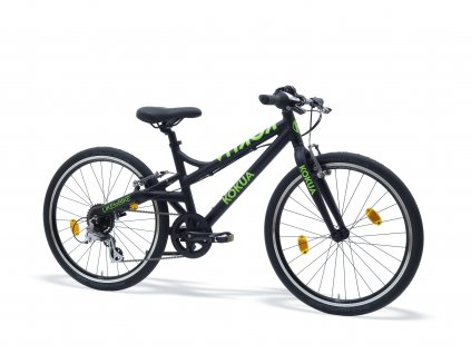 LIKEtoBIKE 24 Black Green scaled