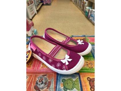 ZETPOL sandálky/papučky - pink kvietky