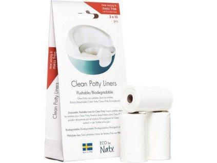 Naty Nature Babycare Vrecúška do nočníka jednorázové 10x3ks Naty Nature Babycare AGS_8245548