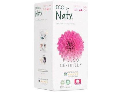 Naty Nature Babycare Tampóny dámske s aplikátorom Regular 16ks Naty Nature Babycare AGS_8245845