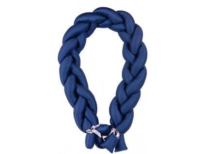 Babymatex Mantinel do postieľky Vrkoč 200cm modrá AGS_TB0357-06
