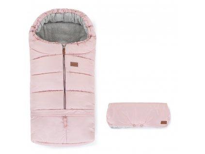 Petite&Mars Set fusak 3v1 Jibot a rukávnik Jinja Flamingo Pink Petite&Mars AGS_531996_535996_SET