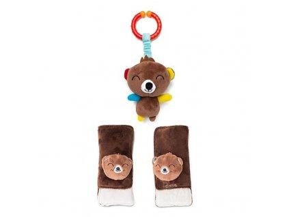 Diono Chránič pásu Soft Wraps & Toy - bear