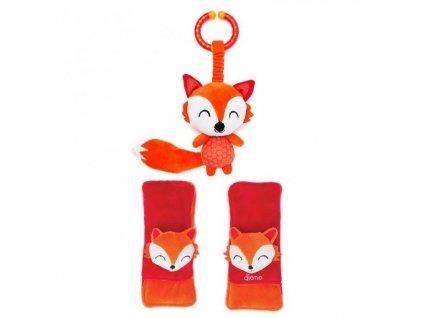 Diono Chránič pásu Soft Wraps & Toy - fox