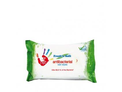 Fresh´n soft antibakteriálne vlhké utierky 60ks