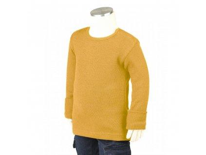 Manymonths merino tričko 19 Golden Oat