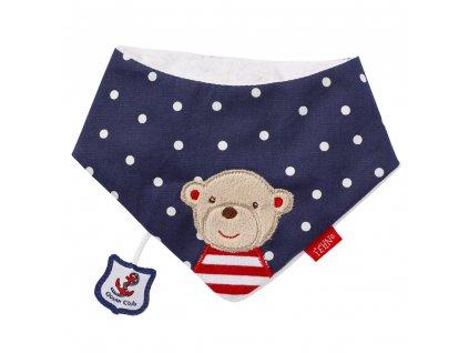 BABY FEHN Dětský šátek medvěd, Ocean club