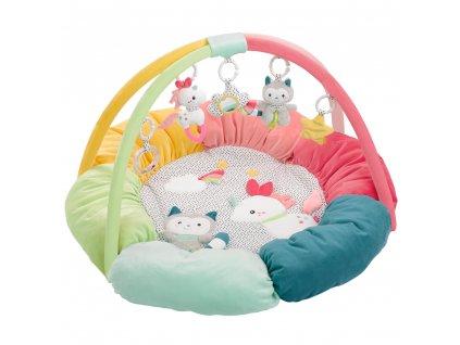 BABY FEHN 3D aktivity deka hnízdečko, Aiko & Yuki