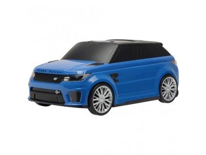 Detské odrážadlo a kufrík 2v1 BAYO Range Rover SVR blue
