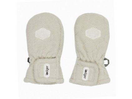 LODGER rukavice mittens Botanimal Ivory one size