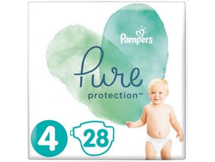 PAMPERS Plienky Pure Protection 4 MAXI 9-14kg 28ks Pampers