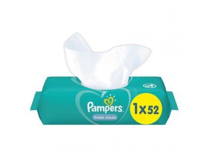 PAMPERS Obrúsky vlhčené Fresh Clean 52ks Pampers