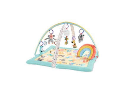 SKIPHOP Deka na hranie 5 hračiek, vankúšik ABC & ME 0m+