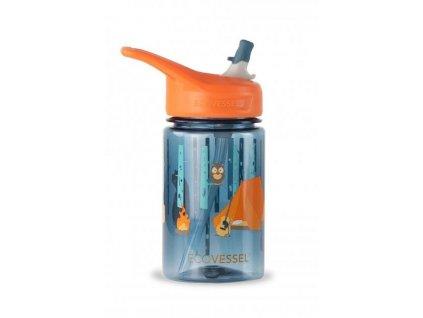 3317 1 detska flaska so slamkou na vodu eco vessel camping 0 4l
