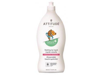 ATTITUDE ATTITUDE Prostriedok na umývanie riadu pre deti bez vône 700 ml