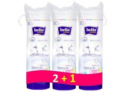 BELLA BELLA Odličovacie tampóny (3x80 ks)