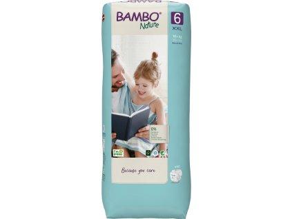 BAMBO BAMBO Nature Jednorázové plienky 6 Tall, 40 ks, pre 16+ kg