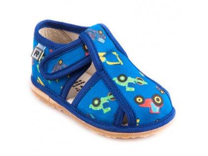 RAK papuce bager modry