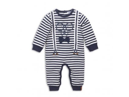 DIRKJE Set 1-dielny D-JUST BE COOL HI THERE 56 Navy+off white