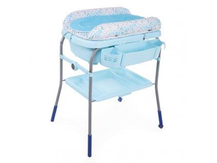 CHICCO CHICCO Prebaľovací stolík s vaničkou Cuddle & Bubble - Ocean