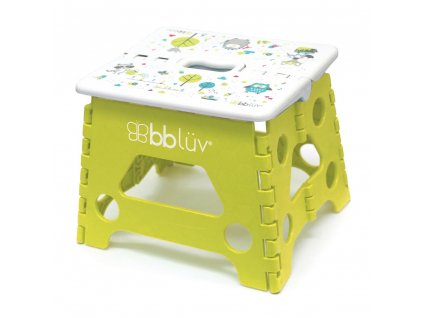 BBLÜV Stäp Skladacia stolička Lime