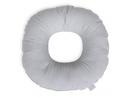 CEBA CEBA Vankúš popôrodný kruh Malé Bodky bielo-šedé