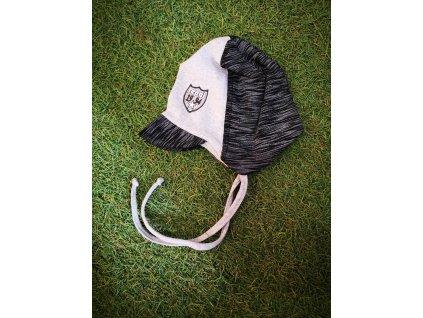 Repal čiapka so šiltom šedá