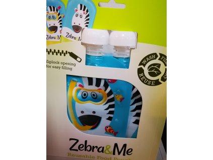 Zebra potápač