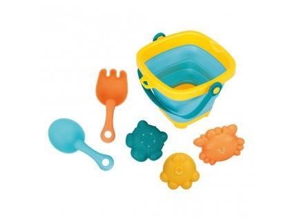Bayo skladací kýblik a hračky do vody