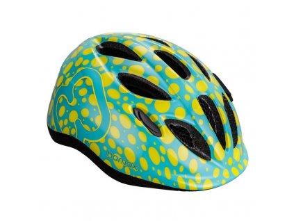 HAMAX HAMAX Cyklohelma Skydive Green/Yellow 45-50