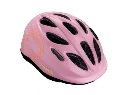 HAMAX HAMAX Cyklohelma Skydive Pink/Yellow 50-55