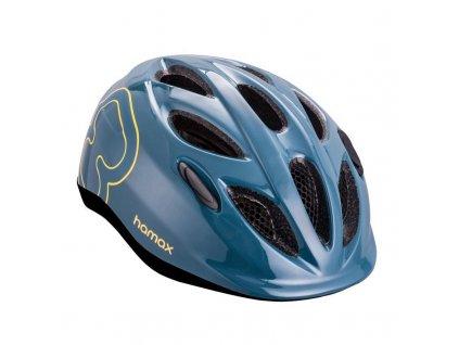 HAMAX HAMAX Cyklohelma Skydive Blue/Yellow 50-55