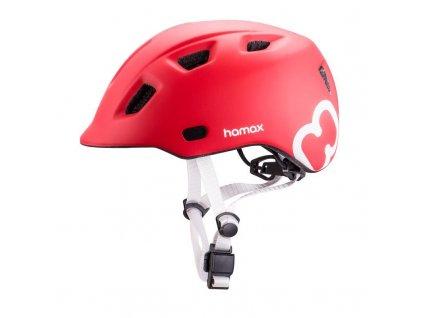 HAMAX HAMAX Cyklohelma Thundercap Red/Silver 52-57