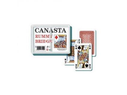 Canasta plast