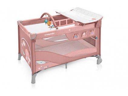 BABYDESIGN BABY DESIGN Postieľka cestovná Dream Pink 08