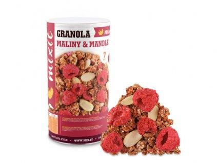 Mixit granola mandle a maliny 440g