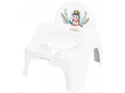 Tegga nočník kresielko unicorn white