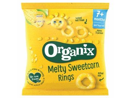 organix sladkokukuricne prstene