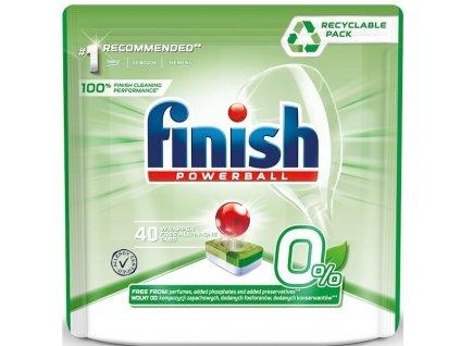 FINISH FINISH 0% tablety do umývačky riadu 40 ks