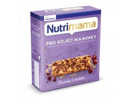 NUTRILON Tyčinky cereálne NUTRILON NUTRIMAMA Profutura Brusnice a čokoláda 5x40g