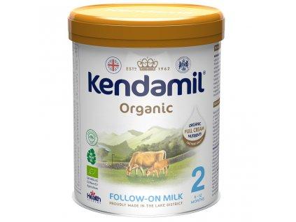 KENDAMIL KENDAMIL Pokračovacie BIO/organické mlieko 2 (800 g) DHA+