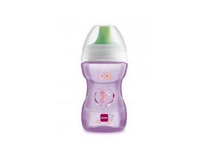 MAM MAM Hrnček na učenie Fun to drink cup Deep sea 270 ml, 8+ m ružový