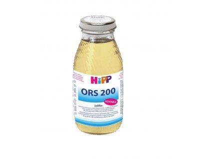 HIPP Výživa rehydratačná ORS 200 jablko 200ml Hipp