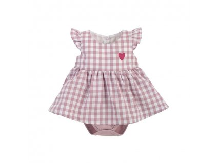 PINOKIO PINOKIO Šaty body Pink Sweet cherry veľ. 80