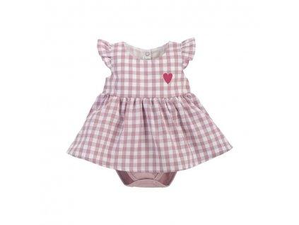PINOKIO PINOKIO Šaty body Pink Sweet cherry veľ. 86
